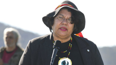 Ningali Cullen, a prominent Aboriginal activist who was co-chair of the National Sorry Day Committee. Two members of the AEC's augmented committee argued in favour of naming the ACT's newest federal electorate after her.