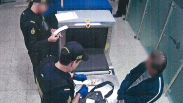 Australian Border Force sent the man back to Malaysia from Perth on Friday night.