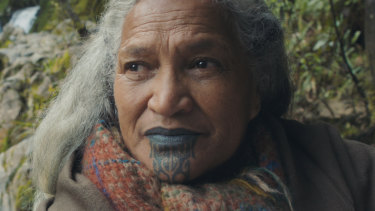 Hinetu Dell plays Vai in Aotearoa, or New Zealand, at 80.