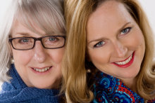 RedBalloon founder Naomi Simson with her mother, Lorna Elms.