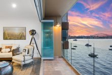 n overseas buyer has paid $5.4 million for the waterfront apartment sight unseen.