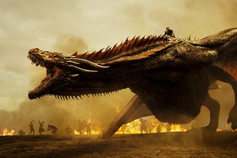There is no shortage of dragons in Game of Thrones.