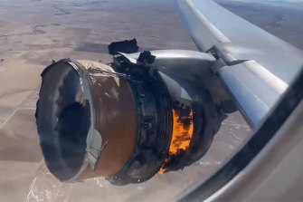 The Federal Aviation Administration ordered emergency inspections after examining the hollow fan blade that failed.