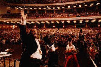 Afraid of failure: Ron Howard's documentary on Luciano Pavarotti.