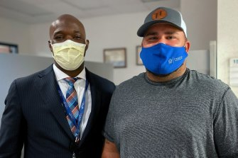 Dr Duane Mitchell, got a surprise call from Mark Hall three days after their chance meeting.