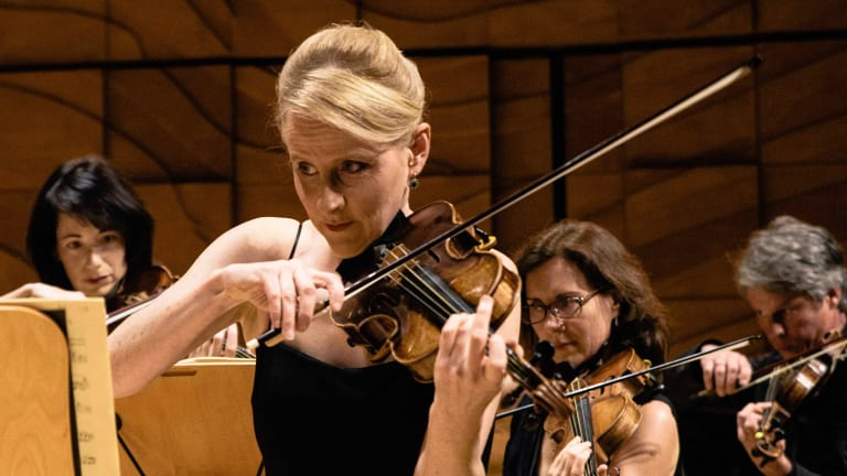Australian Romantic & Classical Orchestra's Rachel Beesley.
