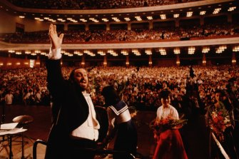 Afraid of failure: Ron Howard's documentary on Luciano Pavarotti.