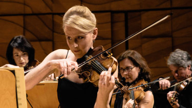 Australian Romantic & Classical Orchestra's Rachael Beesley.