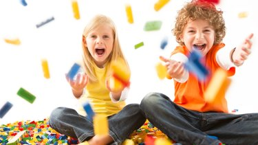 Children will have bucketloads of fun at the Bricks4Kidz school holiday workshops.