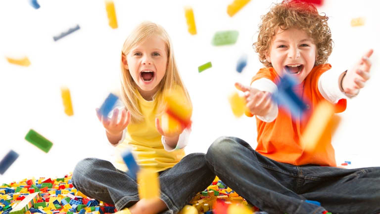 Children will have bucketloads of fun at the Bricks4Kidz school holiday workshops.