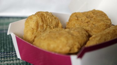 An order of McDonald's Chicken McNuggets.