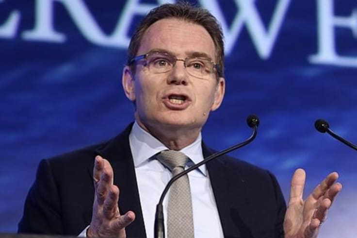 BHP boss Andrew Mackenzie says the company is committed to becoming carbon neutral by 2050.