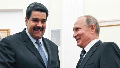 Putin's concern for Venezuela has overtones of superpower rivalry