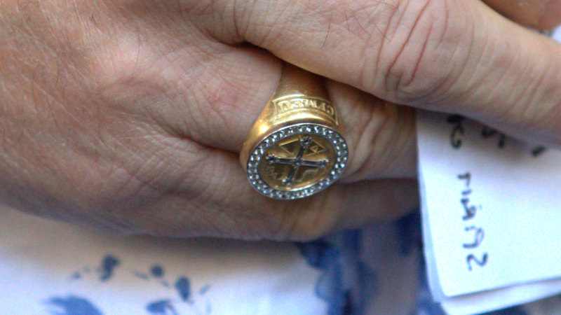 John Setka: his rings intertwined as he pleads guilty to harassment - The Age image