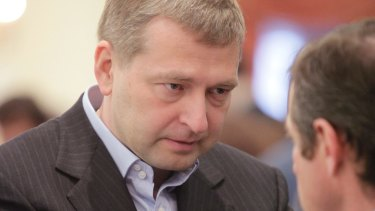 Russian oligarch Dmitry Rybolovlev.