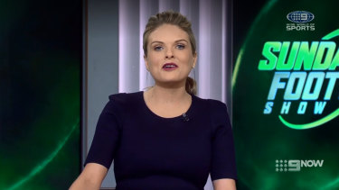 """Erin Molan has apologised following Sunday Footy Show's """"fat-shaming"""" furore."""