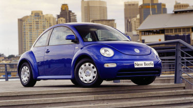 Sales of the new Beetle didn't live up to expectations.