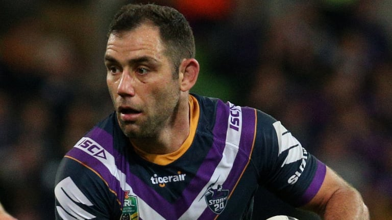 On leave: Cameron Smith won't return to Storm training until after Christmas.