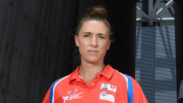 Sarah Klau is the only Diamonds debutant.