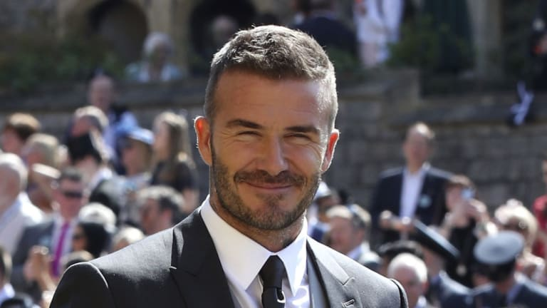Diary clash: David Beckham could drop in on the A-League's Sydney derby on Saturday night if he can dodge a prior engagement.