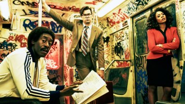 Don Cheadle, Andrew Rannells and Regina Hall star in Black Monday.