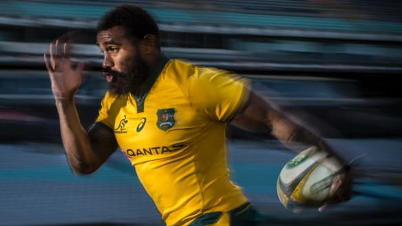 Koroibete re-signs with Rebels and Australian rugby for one more year