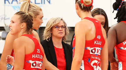 'Netballers are tough': Akle's swipe at Stuart as Swifts vanquish Vixens