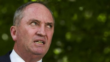 "Former Nationals leader Barnaby Joyce says the party must ""take its medicine"" and listen to rural voters."