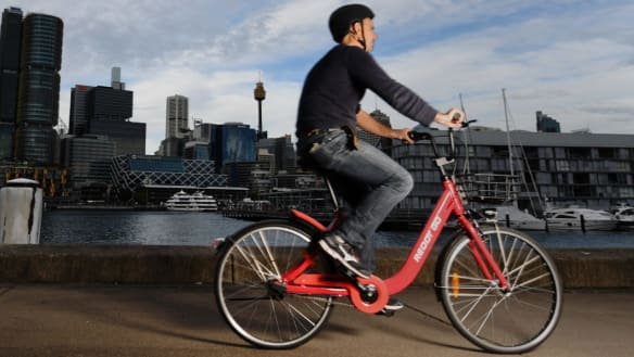 Bump in the road as bike share operators Reddy Go, ofo quit Sydney