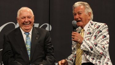 Sporting prime minister: Bob Hawke ruled in a golden time.