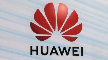 The Huawei Technologies logo.
