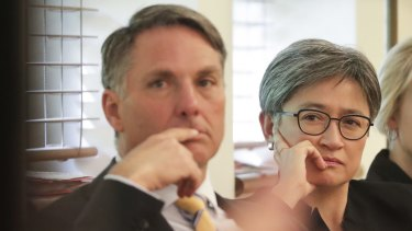 Labor's Richard Marles and Penny Wong say Israel's potential annexation of land in the West Bank would undermine the prospect of a two-state solution.