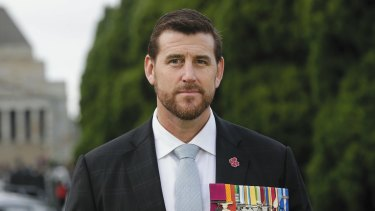 Suing for defamation: Ben Roberts-Smith.