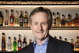 Andrew Wilkinson, managing director of ALE Property Group at the Crows Nest Hotel, Sydney