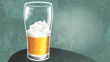 How will the beer industry respond to far from frothy times? Illustration: Joe Benke.