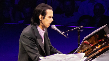 Nick Cave's Opera House concert took unusual twists and turns.