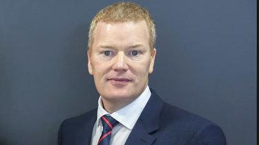 Parramatta Council's former chief executive Mark Stapleton.