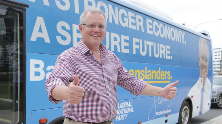 Prime Minister Scott Morrison  made the comments on a Gold Coast radio station earlier this month.