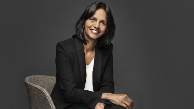 It was no surprise when the head of Macquarie's asset management division,Shemara Wikramanayake, was announced at the AGM as the replacement for CEO Nicholas Moore when he retires at the end of November.