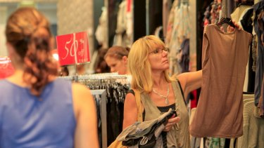 Spending on clothing bolstered retail sales in October.