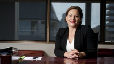 Jackie Trad has been acting premier this week.