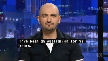 Lebanese-Australian author Michael Mohammed Ahmad.