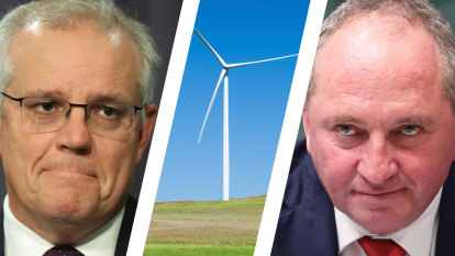 Coalition puts net-zero division up in lights