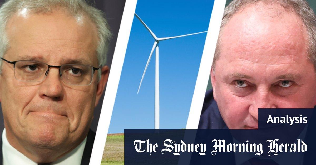 Joyce weakens Morrison before world leaders decide their pledges on climate change
