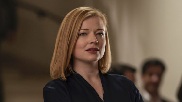 Sarah Snook as Shiv Roy in Succession.