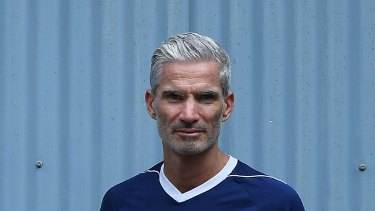 Craig Foster at the Addison Road Community Centre.