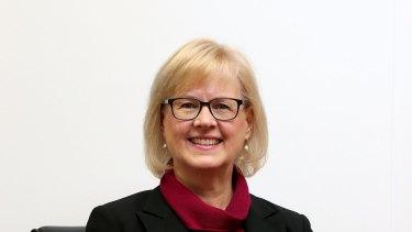 MELBOURNE, AUSTRALIA - MAY 08:  Linda Kristjanson, vice chancellor of Swinburne University poses for a photo on May 8, 2015 in Melbourne, Australia.  (Photo by Pat Scala/Fairfax Media) *** Local Caption *** Linda Kristjanson