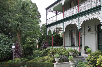 Astolat mansion and garden in Camberwell.