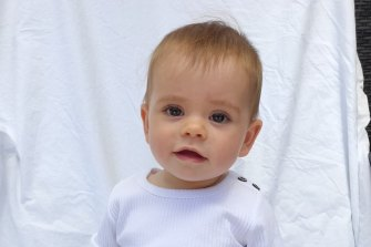 "Nine-month old Kobi Shepherdson would be ""the face of domestic violence"" according to South Australia Police."