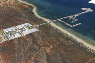 Gascoyne Gateway wants to build a single-jetty deep-water port and renewable hub near Exmouth.